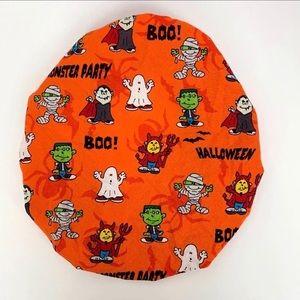 Halloween Monster Mash Surgical Scrub Hat